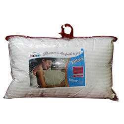 White Fiber Pillow