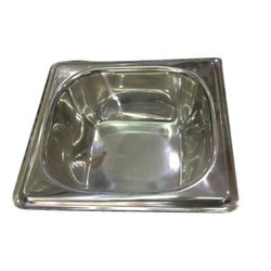 Stainless Steel SS Serving Bowl, Shape: Square