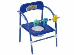 NATRAJ Blue,Red Baby Potty Chairs Seat, 3-12 Months
