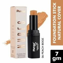 O3  Plunge Foundation Stick Concealer for Touch Up, Contouring and Even Skin Tone (Peach Beige, 7GM)