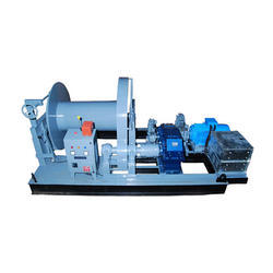 PEC 3 Ph 30 Ton Electric Winch For Industrial