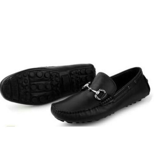 detailing top quality new list Mens Loafer Shoes - Mens Black Loafers Shoes Manufacturer from Delhi