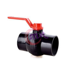 Black PP Solid Seal Ball Valve