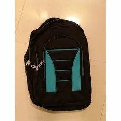 Black Plain School Bags