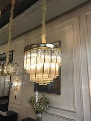 Crystal Glass FANCY AND DECORATIVE CRYTAL CHANDELIER