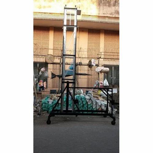 Vertical Tilting Tower Ladder