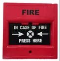 Fire Alarm Conventional ABS Plastic Manual Call Point