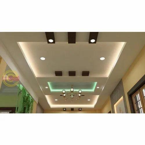 Galvanised Designer PVC False Ceiling, Rs 60 /square feet ...
