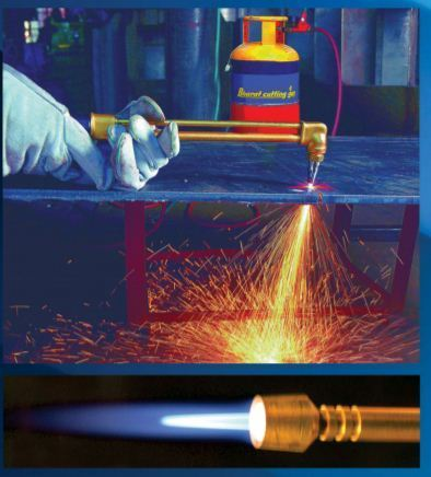 Image result for metal cutting gas