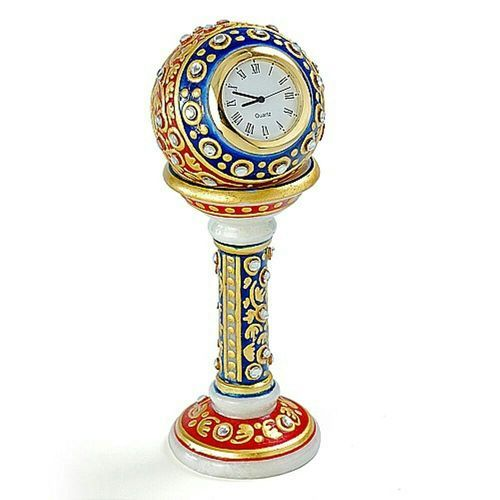 Multicolor RMM Handcrafted Marble Pillar Watch