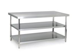 Stainless Steel Service Tables