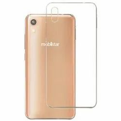 Silicone Transparent Mobile Back Cover, Packaging Type: Packet