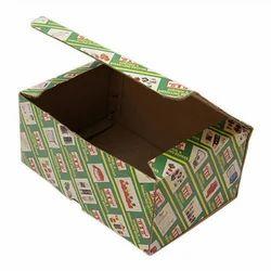 Green Printed Corrugated Box