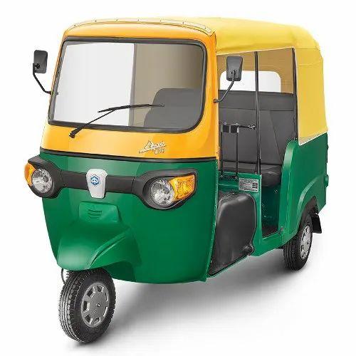 Piaggio Ape City 3 Seater CNG Passenger Auto, Seating Capacity: Driver + 3 Passengers