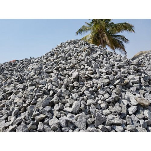 Aggregate Stone Rough Aggregate Stones, Packaging Type: Loose, For Construction