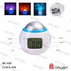 Night Light Music Alarm Clock