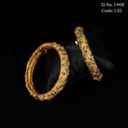 Traditional Antique Meenakari Bangles