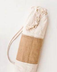 Jute Fabrics Drawstring Closer Yoga Bag