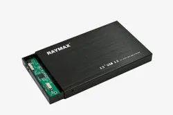 RAYMAX USB 3.0 2.5 External HDD Case