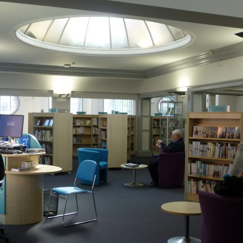 Charmant Library Interiors