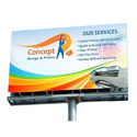 Multicolor Iron Outdoor Advertising Hoarding Board, In Bihar, Dimension: Many Type