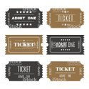 Entertainment Tickets with Security Features