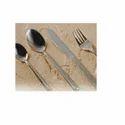 Metal Exports Silver Decorative Cutlery Set Dew Dot Design