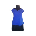 Cotton Casual Half Sleeves Girls Top, Size: X, M, L, Xxl