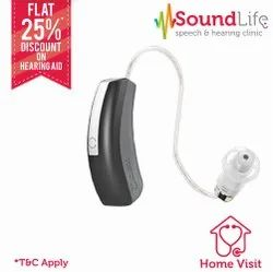 Widex Unique Passion 110 RIC BTE Hearing Aid