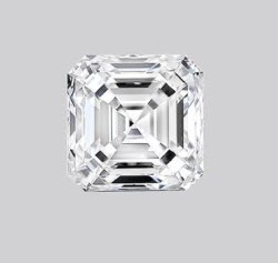 Square Emerald Diamond 3.56ct G VVS2 CVD TYPE2A IGI Certified