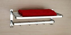 Stainless Steel SS Towel Rack, Size: 24