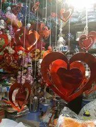 Heart Danglers Set Of 16