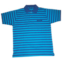 Stripes Navy Blue Polo T- Shirt