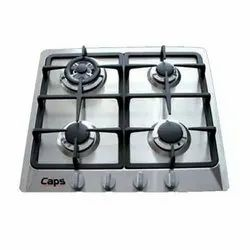 Stainless Steel Four Burner Kitchen Gas Stove