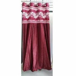 Red Silk Curtain