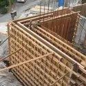 9x Wooden Column Shuttering Frame