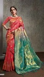 Fancy designer banarasi silk saree