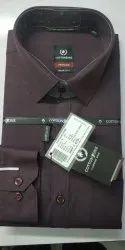 Cotton Zone Full Sleeve Men Plain Designer Formal Wear Shirt, Size: S-xxxl