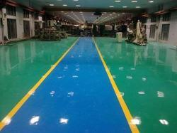 2000 Sq Ft Residential Building Industrial Flooring Services, South India