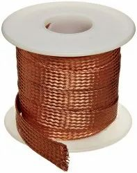 Bare Braided Copper Wire Rope/Strip