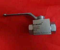 Atauff Carbon Steel High Pressure Hydraulic Ball Valve
