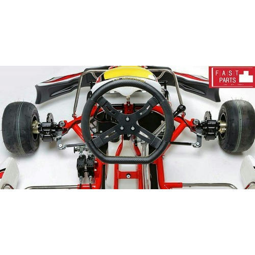 Three Spoke Go Kart Complete Steering Embly