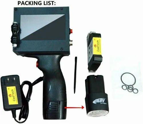 Handheld Ink Jet Printer For HDPE PP Bags