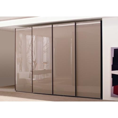 Transparent Designer Lacquered Glass, For Home And Office, Thickness: 5 Mm