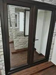 Saint Gobain Sliding Aluminium Glass Door, For Home