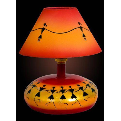 Led Antique Round Base Table Lamp 20 W Rs 1800 Unit Markdraft