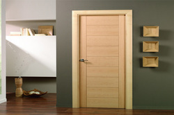 Polished Woodencia WPC Door for Home
