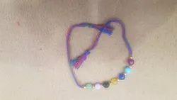 7 Colored Beads Rakhi