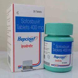 Hepcinat 400 Mg Tablet ( Sofosbuvir )