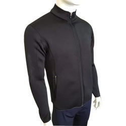 Mens Lycra Full Sleeve Jacket, Size: M, L and XL
